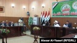 مجلس محافظة النجف يناقش الواقع الامني