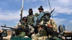 Ауғанстан әскерилері. (Көрнекі сурет.)