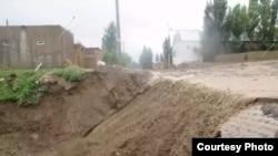 Наводнение в Кульдже.