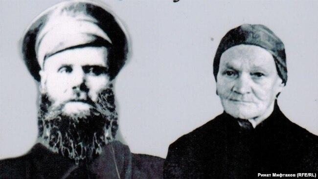 Кузьма Данилович и Афанасия Петровна Попадейкины