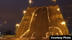 Leonid Nikolayev was among the group of activists who in 2010 painted a 65-meter phallus on a St. Petersburg drawbridge that, when raised, faced the windows of the local headquarters of the Federal Security Service (FSB).