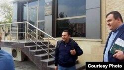 """Hüquq müdafiəçisi, keçmiş məhbus Bəşir Süleymanlı """"Bandotdel""""dən çıxdı. 01may2017"""