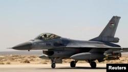 Иордания әскери ұшағы. (Көрнекі сурет)