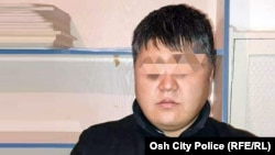 «Казак» деген каймана аты барУмар Маратов (Сүрөт: Ош шаардык милициясы).