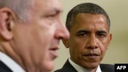 Președintele Barack Obama și premierul Benjamin Netanyahu la Casa Albă