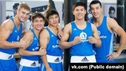Боксеры казахстанской сборной.