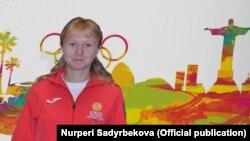 Кыргыз жеңил атлетчиси Дарья Маслова.