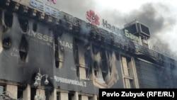 La Kiev după ciocnirile violente de noaptea trecută