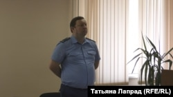 Прокурор во время оглашения приговора