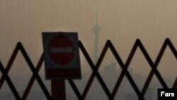 کیفیت هوای روز پنجشنبه در تهران برای هشتمین روز متوالی٬ برای «گروههای حساس»٬ در شرایط «ناسالم» قرار گرفت