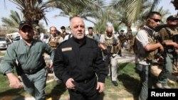 حیدر العبادی عراق هفتۀ قبل پیروزی بر گروه تندرو داعش را اعلان کرد.