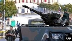 حضور ارتش در خیابان های بیروت کاملا مشهود است.