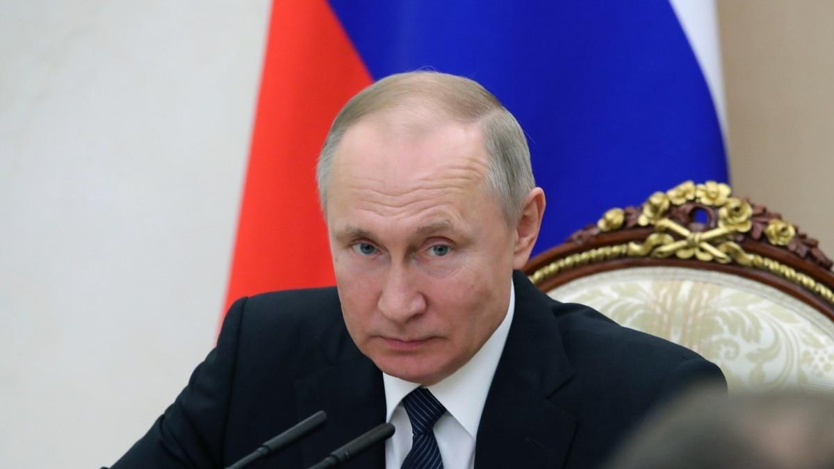 Путин выступит с обращением к россиянам за эпидемии коронавирус