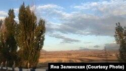 Дорога из Еревана в сторону Нагорного Карабаха, 29 сентября 2020 года