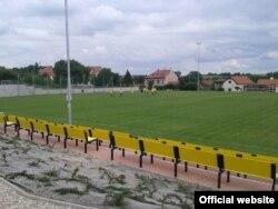 Футбольне поле в Дольніх Брежанах (фото з сайту: www.skolympie.cz)