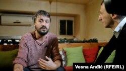 Branislav Trifunović u razgovoru sa novinarom RSE Milošem Teodorovićem, Beograd