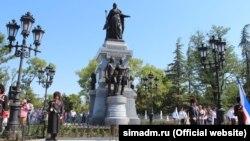 Пам'ятник Катерині II у Сімферополі. Ілюстративне фото