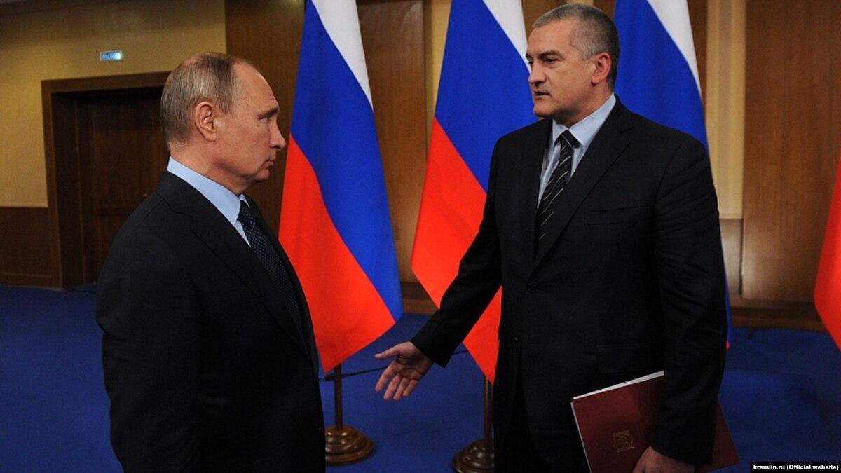 Аксенов об аннексии Крыма: ничего бы не получилось, если бы Путин не руководил этой операцией