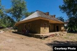 Casa George Enescu de la Mihăileni după restaurare în 2016 (Foto: Pro Patrimonio/Mihai Bodea)