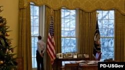 أوباما بعد عام على وجوده في البيت الأبيض