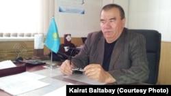 Автопарк директоры Базарбай Жүнісов. Алматы, 18 сәуір 2013 жыл.