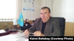 Базарбай Юнусов, генеральный директор алматинского автопарка № 4. Алматы, 18 апреля 2013 года.