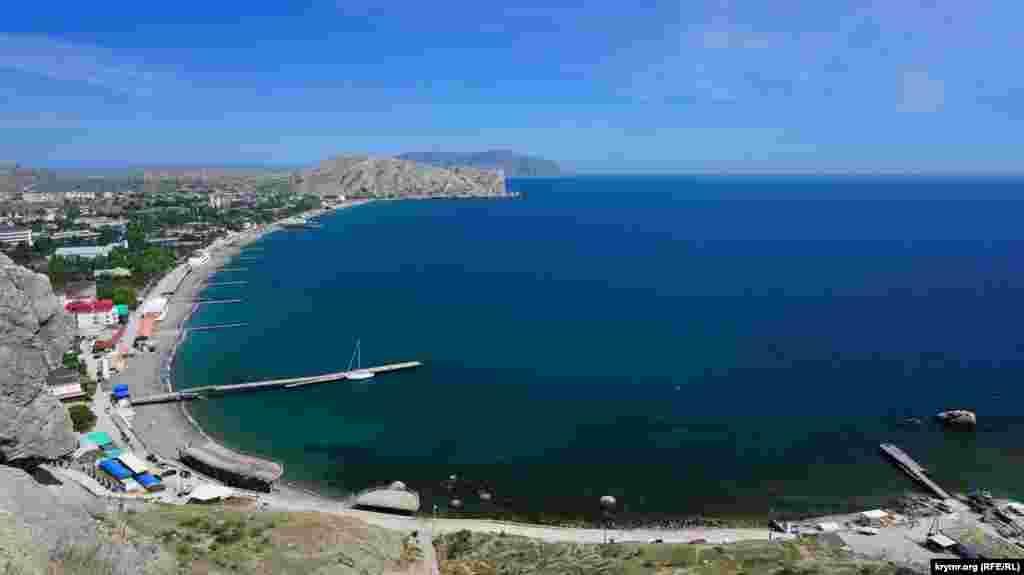 İşte o – bütün güzelligi ile Suvdağ limanı