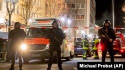 Policija osigurava mjesta napada u Hanau