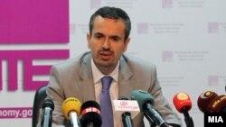 Шефот на изборниот штаб на ДУИ и министер за економија, Беким Незири
