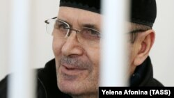 Chechen human rights activist Oyub Titiyev has been in detention since early January. (file photo)