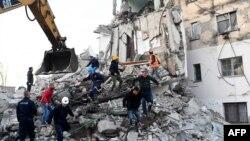 خسارات ناشی از زلزله در البانیا