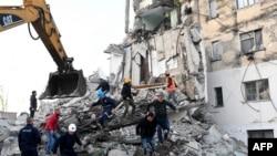 وقوع زمینلرزهای با بزرگی ۶.۴ در نزدیکی تیرانا پایتخت آلبانی