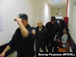 Александр Горбунов в суде 9 сентбяря 2015 года