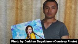 Костанайский художник Дархан Бегайдаров.