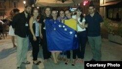 Sa zastavom BiH