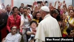 Papa Francis Bosniya Herzeqovinada, iyun, 2015-ci il