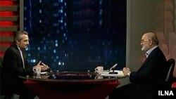 ناصر سراج، رئیس سازمان بازرسی کل کشور (راست)