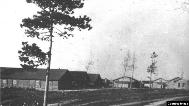Комплекс ЖД больницы в начале 20 века