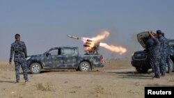 نیروهای عراقی در جنوب موصل چهارشنبه ۵ آبان