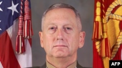 General James Mattis in an undated U.S. Marine Corps handout photo