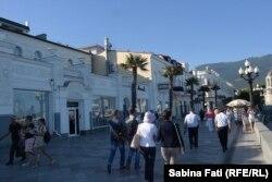 Pe faleză la Ialta