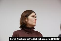 Вдова Веремія Світлана Кирилаш також прийшла на оголошення вироку