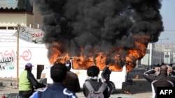 Foto nga protestat në Egjipt