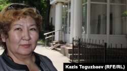 Сотталушының апайы Феруза Тулбаева. Алматы. 27 мамыр, 2015 жыл.