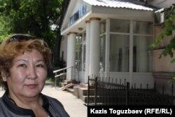 Сәкен Тулбаевтың әпкесі Феруза. Алматы, 27 мамыр 2015 жыл.