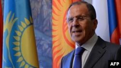 Министр иностранных дел России Сергей Лавров. Москва, 3 апреля 2014 года.