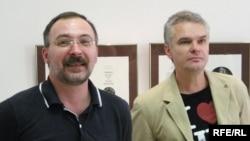 Юры Якавенка і Аляксандар Сільвановіч
