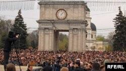 Протести во Молдавија