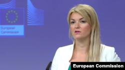 Портпаролката на Европската комисија, Мина Андреева