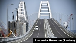 Керченский мост, май 2018 года